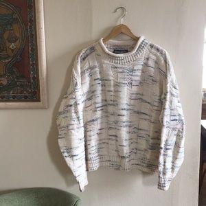 Mock neck vintage sweater